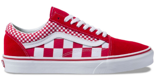 vans old skool bordeau rood