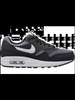 new style 648cf f46bb Nike Air Max 1 807602-009 Grijs   Wit   Zwart