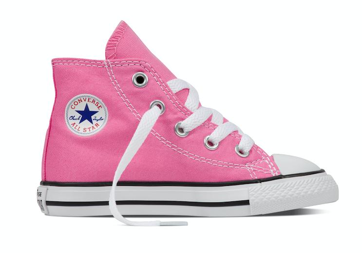 Converse All Stars Hoog Kids 7J234C Roze-18
